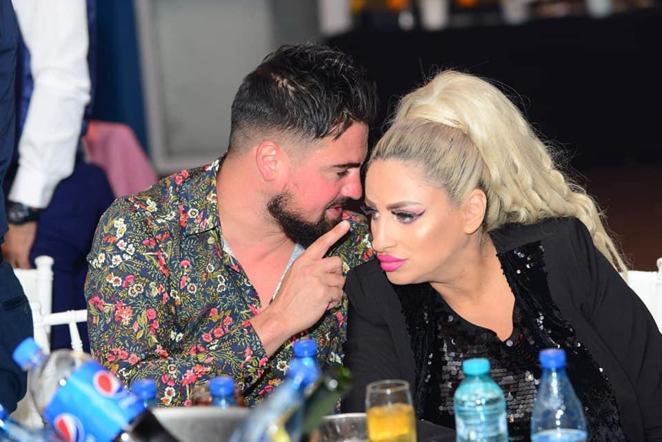 Sânziana Buruiană şi Nicolae Zuluf, supăraţi după botez / Facebook