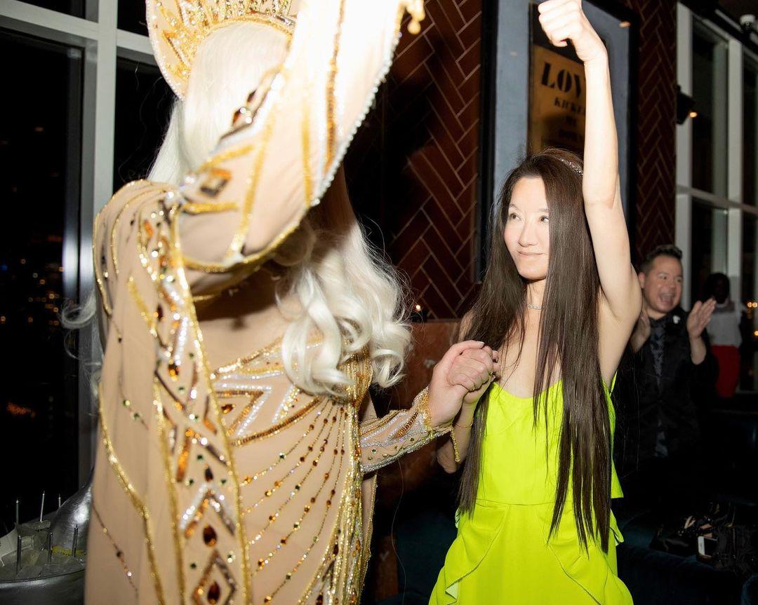 Imagini de la petrecerea ținută de Vera Wang