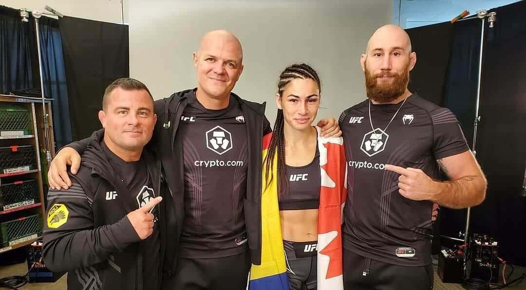 Diana Belbiță, victorie în UFC!