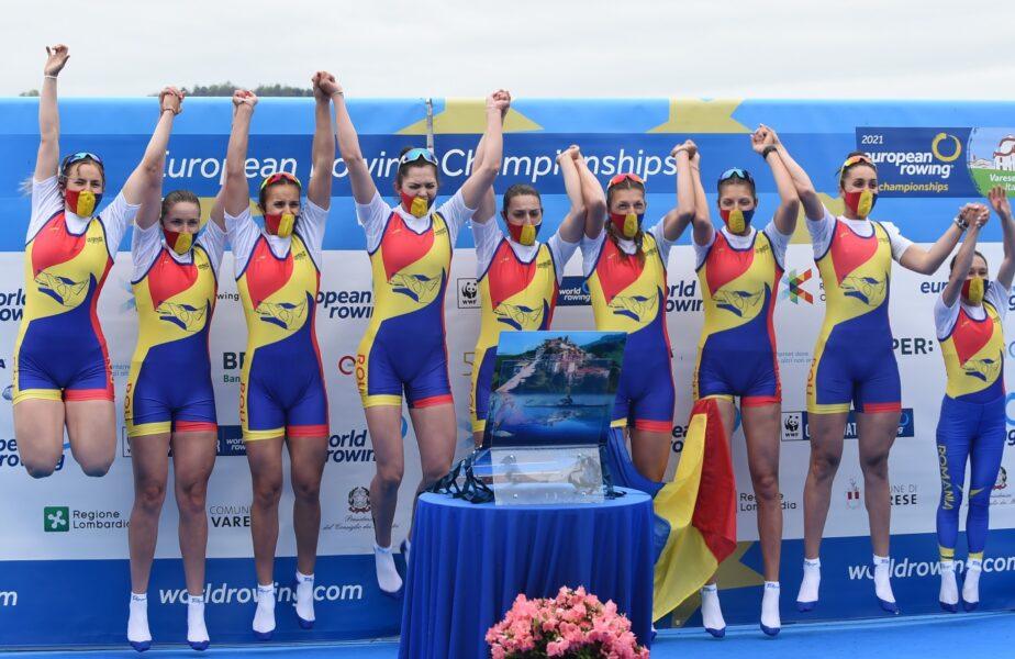 Jocurile Olimpice 2020 | Cursă fantastică a bărcii feminine de 8+1.