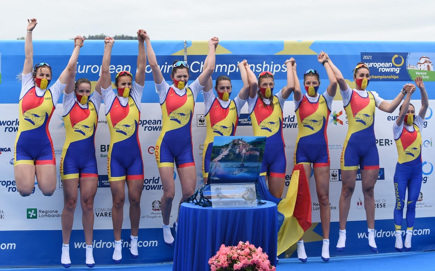 Jocurile Olimpice 2020 | Cursă fantastică a bărcii feminine de 8+1. Record mondial și calificare în finală