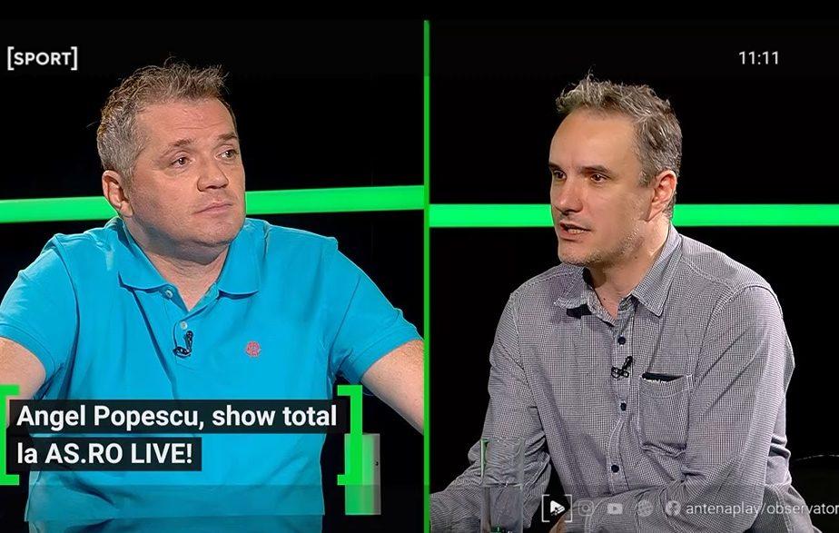 """Reacția lui Gică Hagi când a dat nas în nas cu actorul care-l imită! Angel Popescu: """"Mă plesnește, aia e, mi-o asum!"""""""