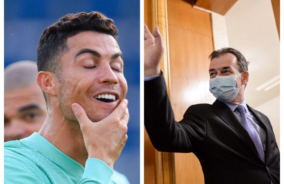 """FABULOS! Ludovic Orban s-a comparat cu Cristiano Ronaldo! :) """"Îl ştiţi, da? A jucat la Real Madrid"""""""