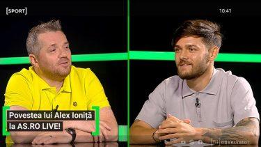 """Povestea lui Alexandru Ioniță: """"Mergeam cu basculanta la stadion!"""" Cine i-a zis """"Bulgaru'"""": """"Eram mic și îndesat :)"""". Cum și-a cumpărat prima pereche de ghete"""