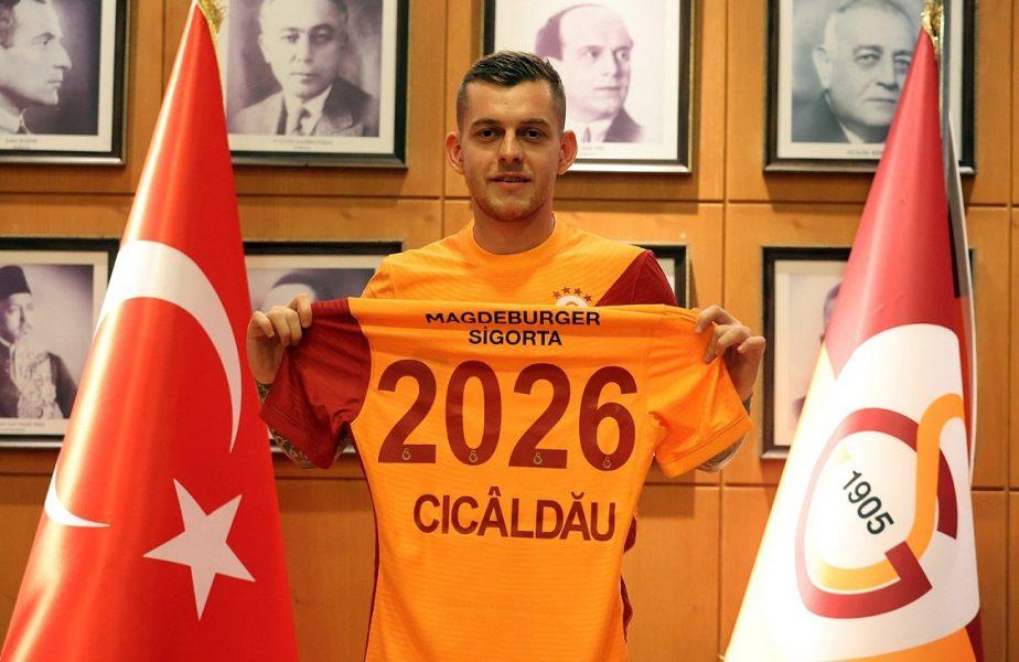 """Ce clauză de reziliere i-a pus Galatasaray lui Alexandru Cicâldău! Declaraţia fotbalistului pentru Universitatea Craiova. """"Aţi fost ca o familie!"""""""
