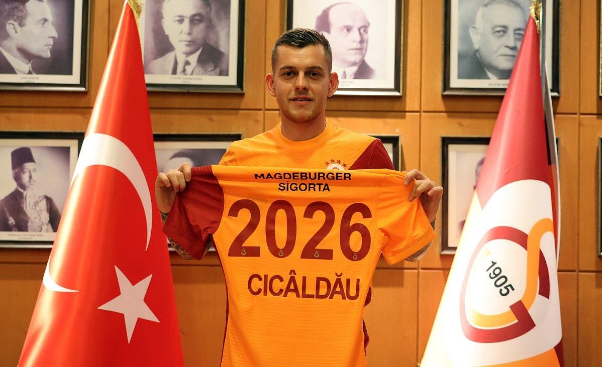 Ce clauză de reziliere i-a pus Galatasaray lui Alexandru Cicâldău