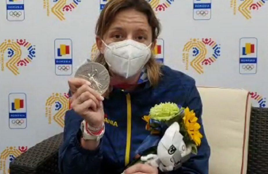 """Jocurile Olimpice 2020   """"Cea mai chinuită medalie a mea!"""" Ana Maria Popescu, dezvăluire după argintul de la Tokyo. """"Am muncit atâta amar de vreme!"""""""