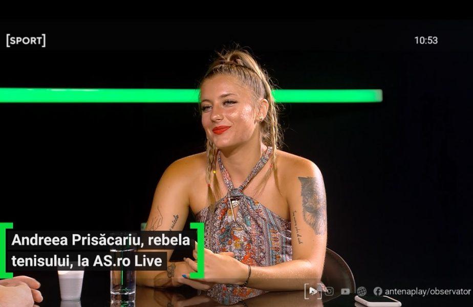 """Poeta din teren! Fața nevăzută a Andreei Prisăcariu! Rebela tenisului românesc are o pasiune ascunsă: """"Scriu poezii și citesc!"""" Povestea tatuajelor și ce muzică ascultă"""