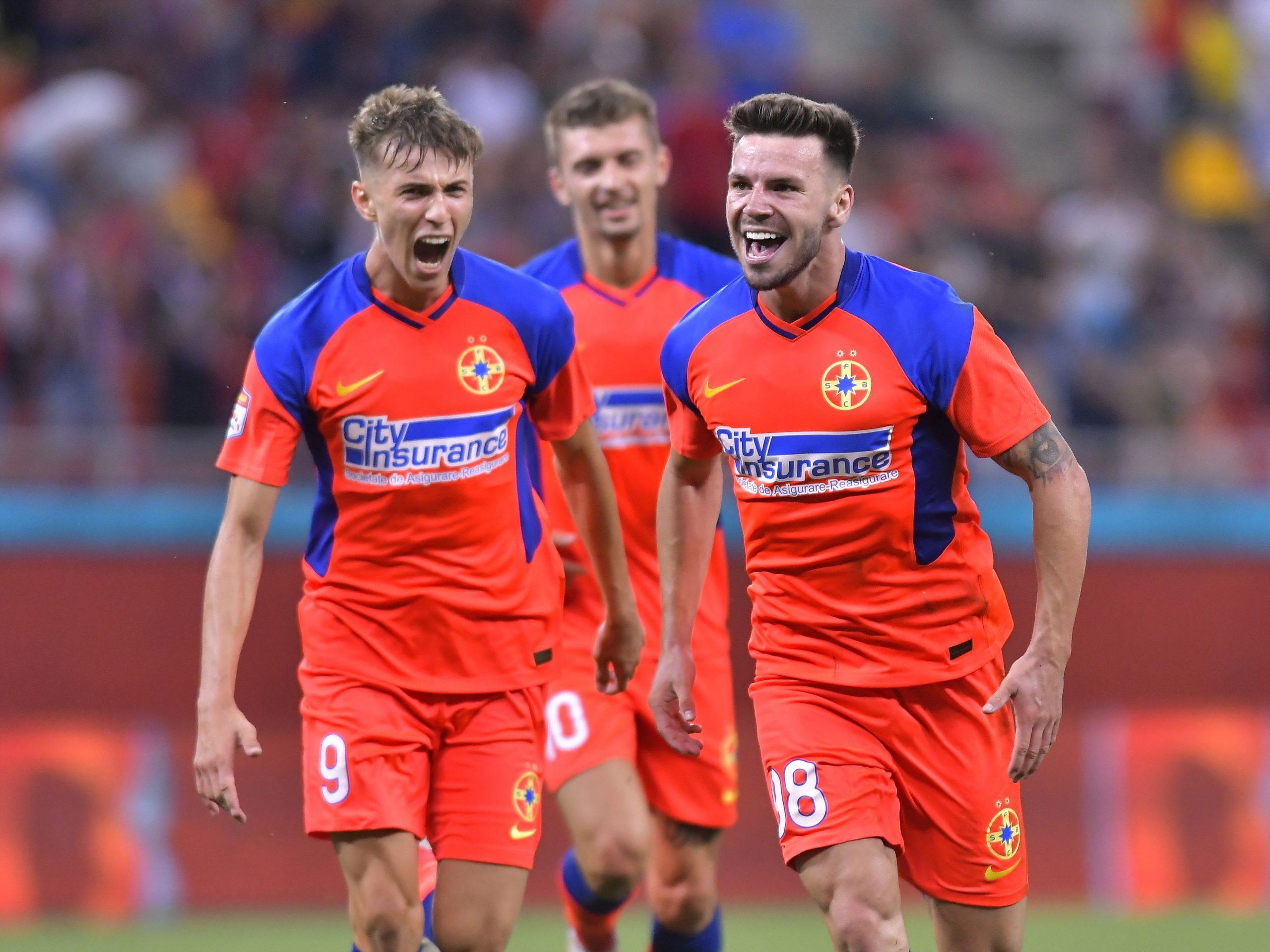 Andrei Cordea, bucurie după gol