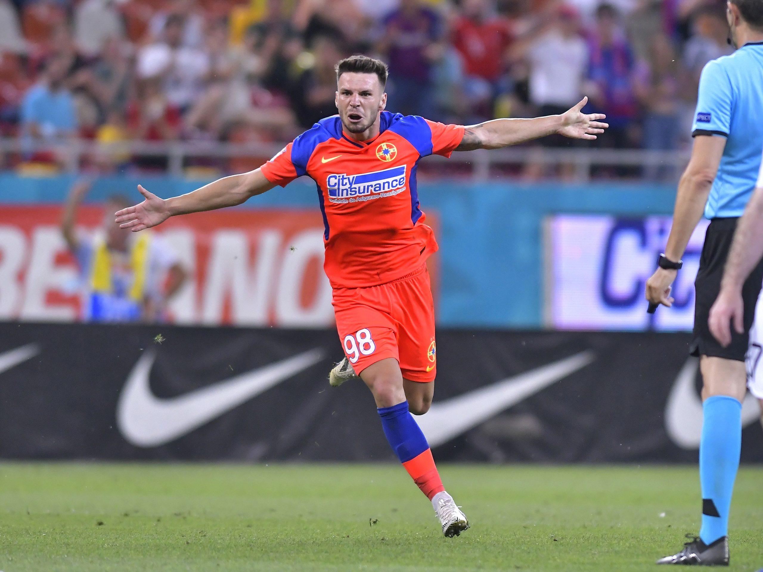 Andrei Cordea, primul gol în tricoul FCSB