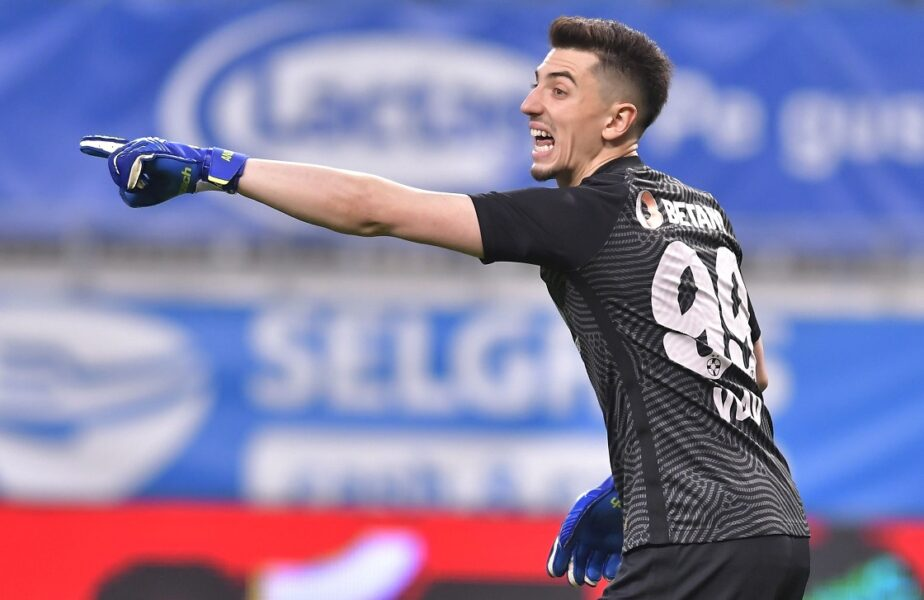 """CFR Cluj – FCSB   Gigi Becali a înnebunit! Andrei Vlad, o nouă gafă uluitoare. """"Messi al portarilor"""" a  provocat şi un penalty"""