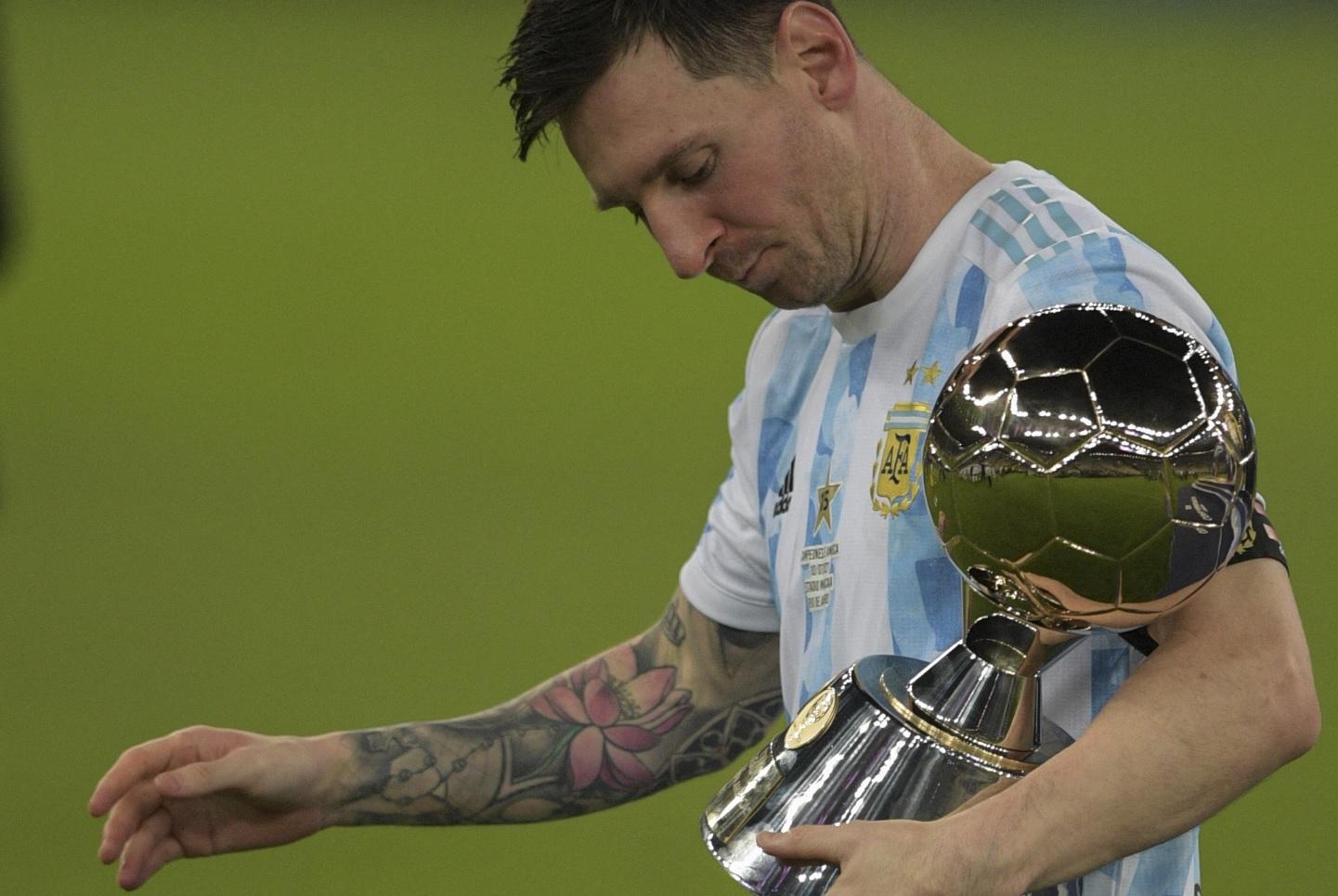 Lionel Messi, campion la Copa America