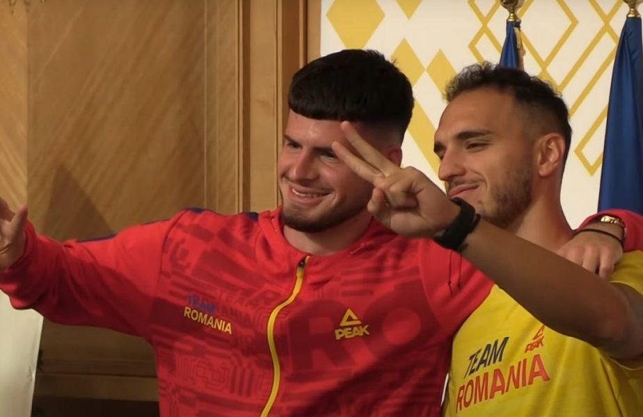 Plecare România U23 la Tokyo