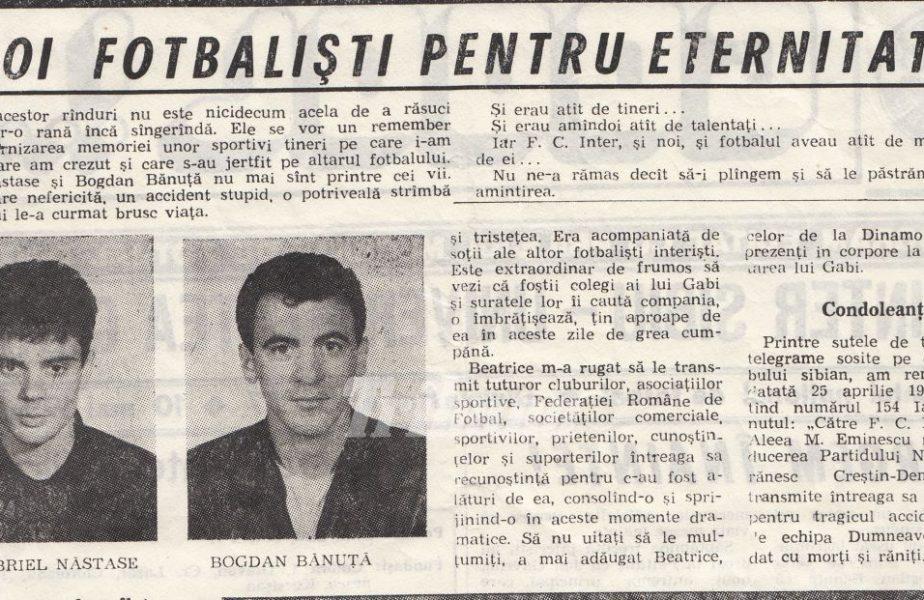 """Tragedia lui Inter Sibiu. Cum au murit Bănuță, comparat cu Hagi, și Năstase. """"Ajutați-mă!"""""""