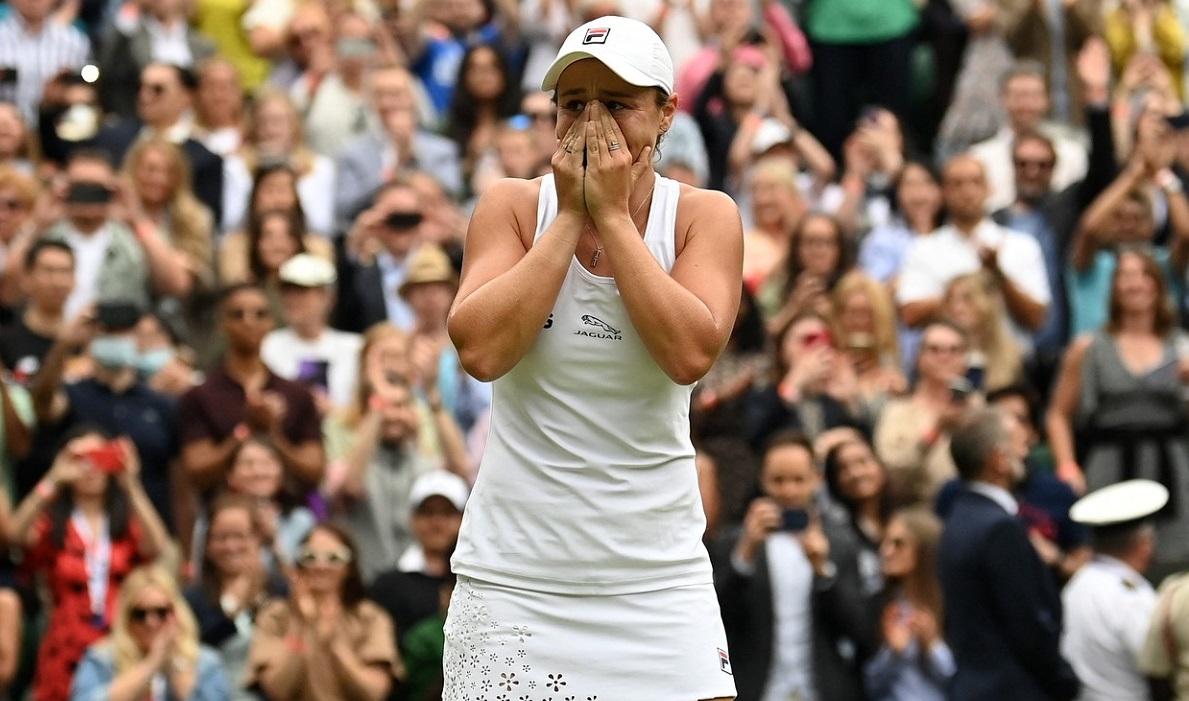 Asleigh Barty, campioană la Wimbledon 2021