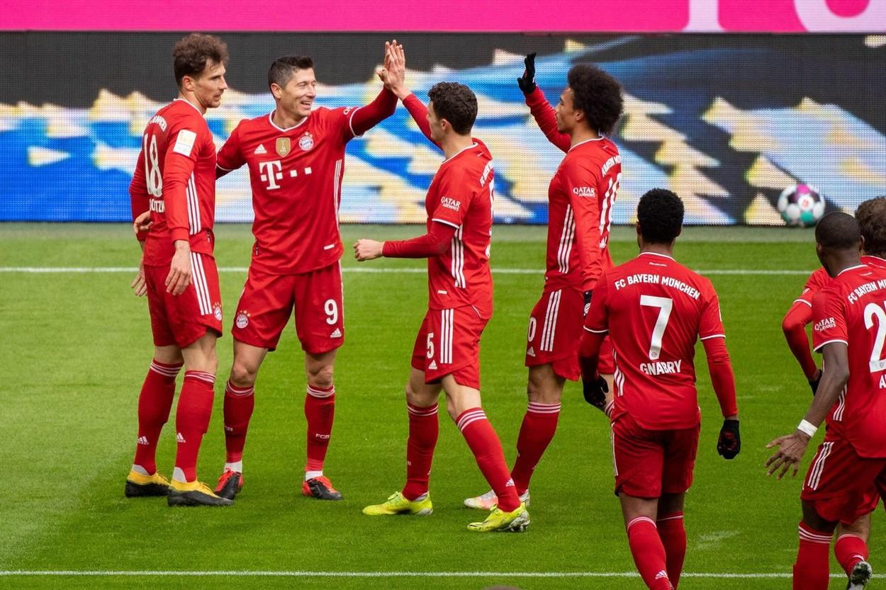Bayern, bucurie gol