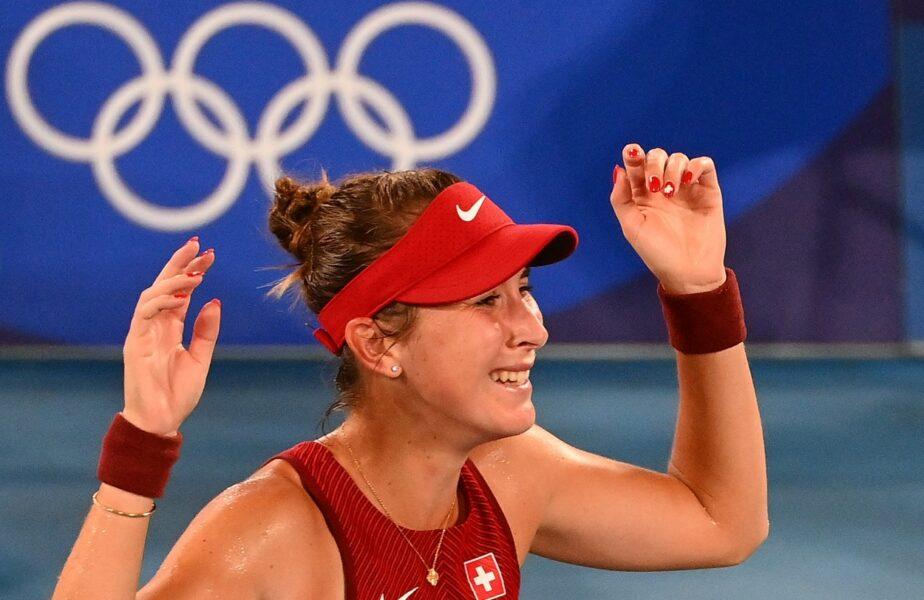 Jocurile Olimpice 2020 | Belinda Bencic, victoria carierei! Jucătoarea elveţiană a cucerit medalia de aur după o finală nebună cu Marketa Vondrousova