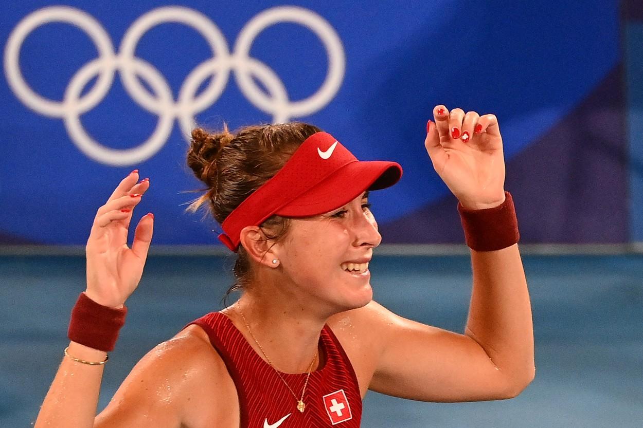 Jocurile Olimpice 2020   Belinda Bencic, victoria carierei! Jucătoarea elveţiană a cucerit medalia de aur după o finală nebună cu Marketa Vondrousova