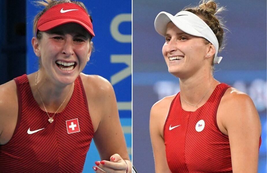 Jocurile Olimpice 2020 | Finala la care a visat Simona Halep. Belinda Bencic şi Marketa Vondrousova vor lupta pentru aur