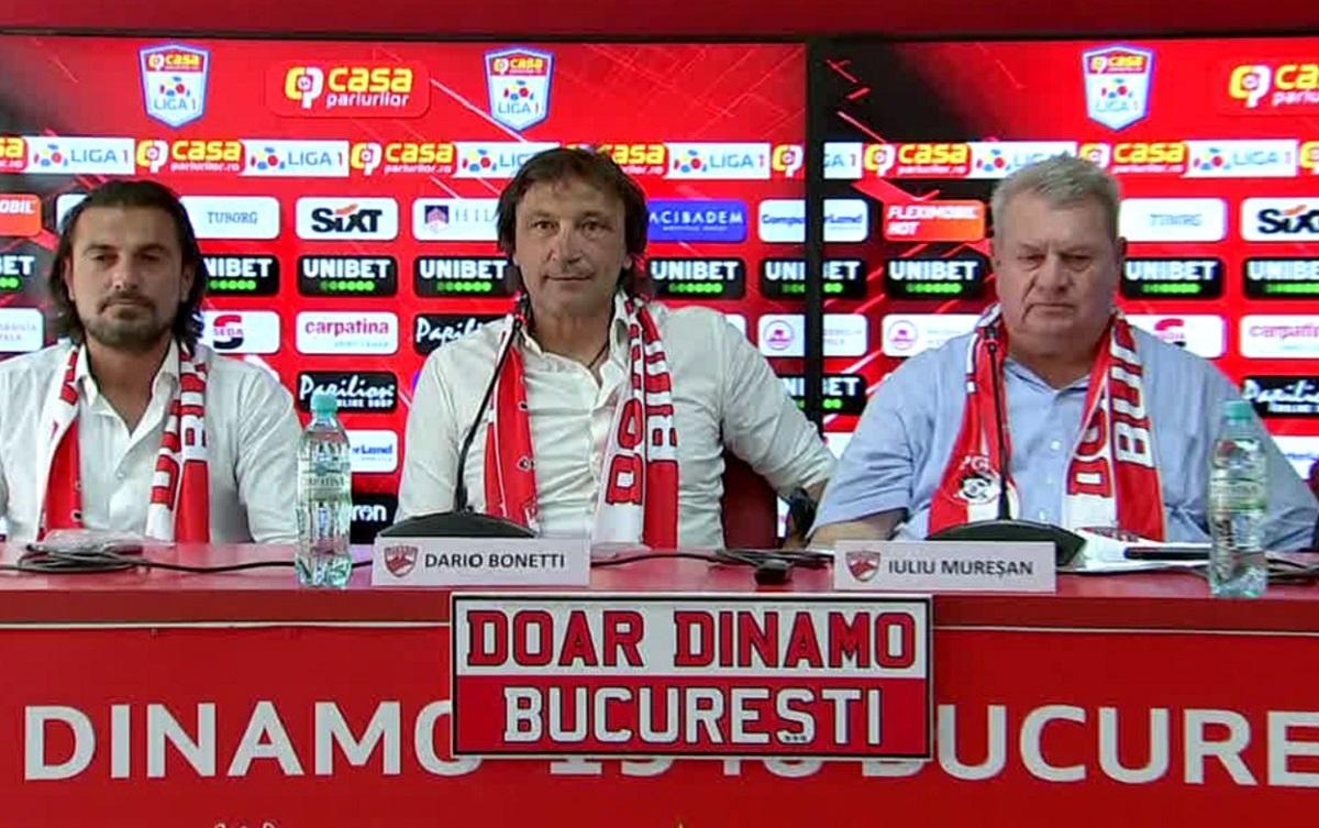 Dario Bonetti, la Dinamo