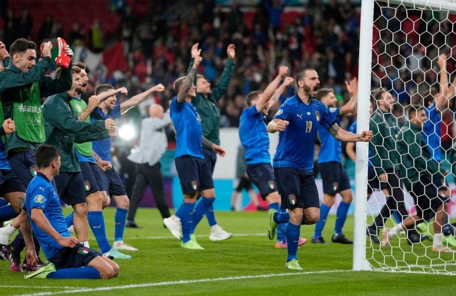 Euro 2020 | Leonardo Bonucci, moment halucinant după Italia – Spania! Un steward l-a confundat cu un fan și nu l-a lăsat să intre pe gazon