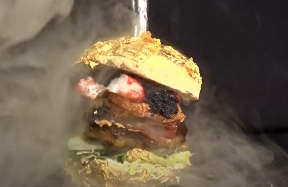 Cel mai scump burger din lume, cât salariul lui Dinu Todoran la FCSB! Ce ingredientele de lux sunt folosite