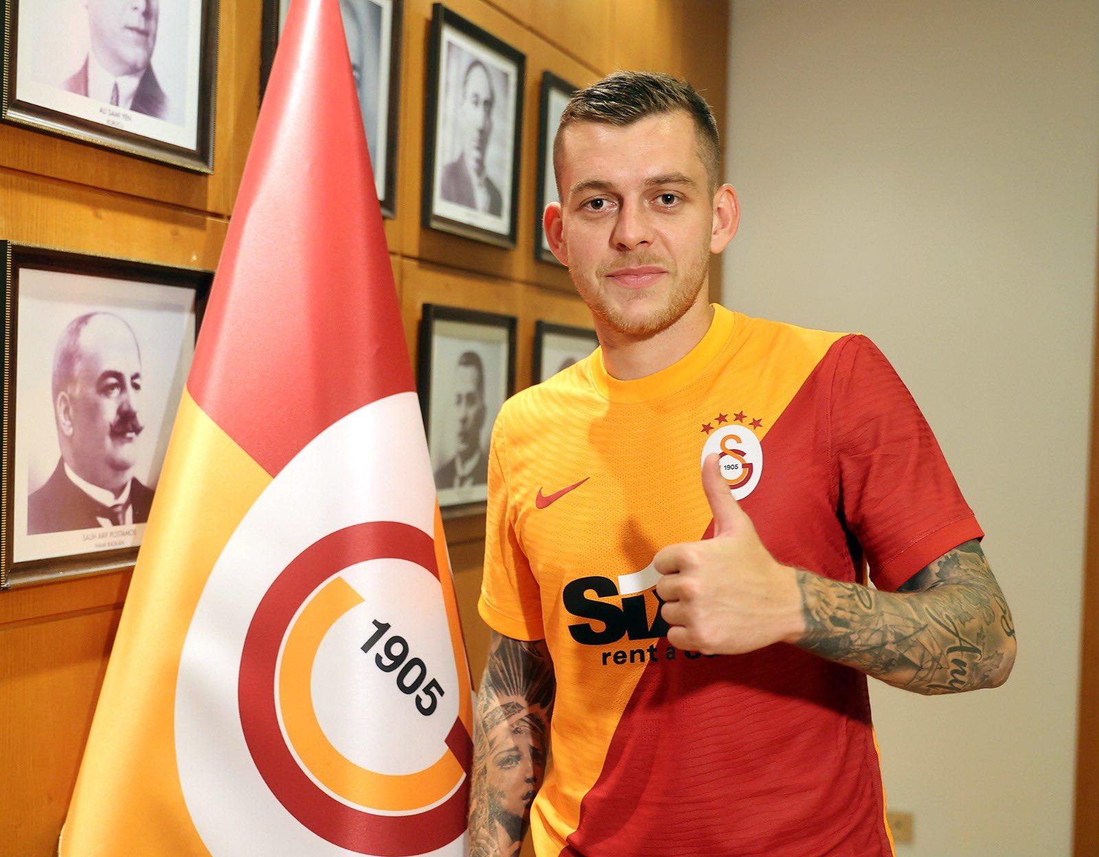 Alexandru Cicâldău, primele imagini în tricoul lui Galatasaray / Twitter