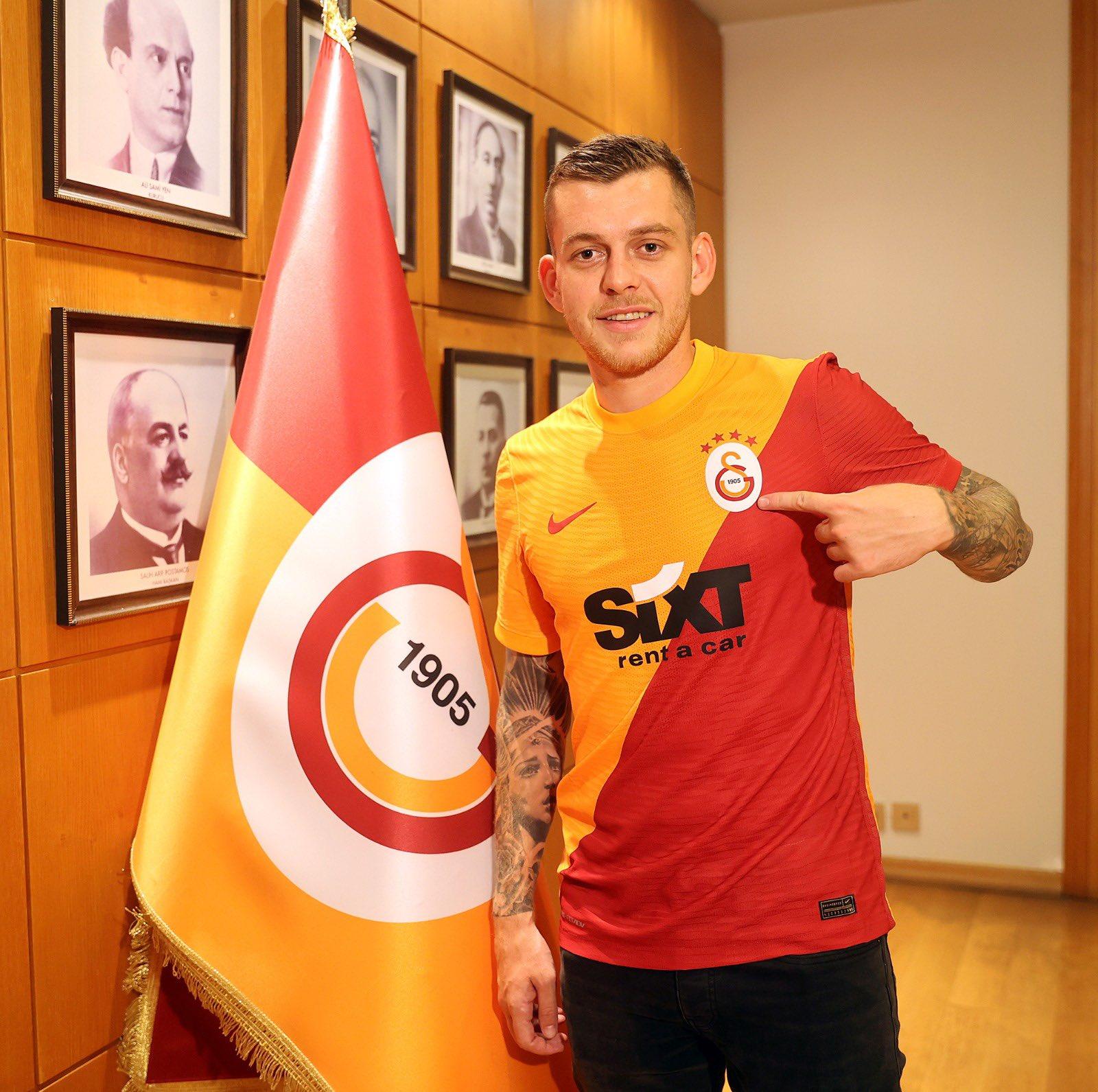 Alexandru Cicâldău, primul gol la Galatasaray