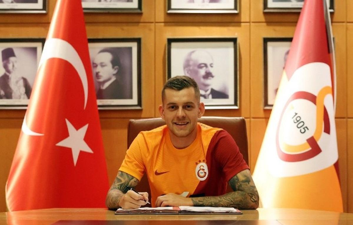 Alexandru Cicâldău, primele imagini în tricoul lui Galatasaray