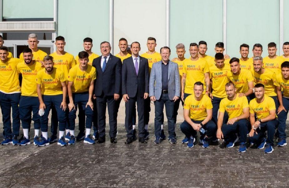 """""""Să ne faceţi fericiţi!"""" Premierul României s-a întâlnit cu lotul olimpic. Mesajul inedit transmis de Florin Cîţu"""