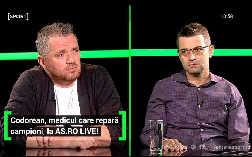 Bogdan Codorean, dezvăluiri de senzație! Jucătorii de la Steaua se distrau pe seama noilor medici. Ce a pățit Radu Paligora