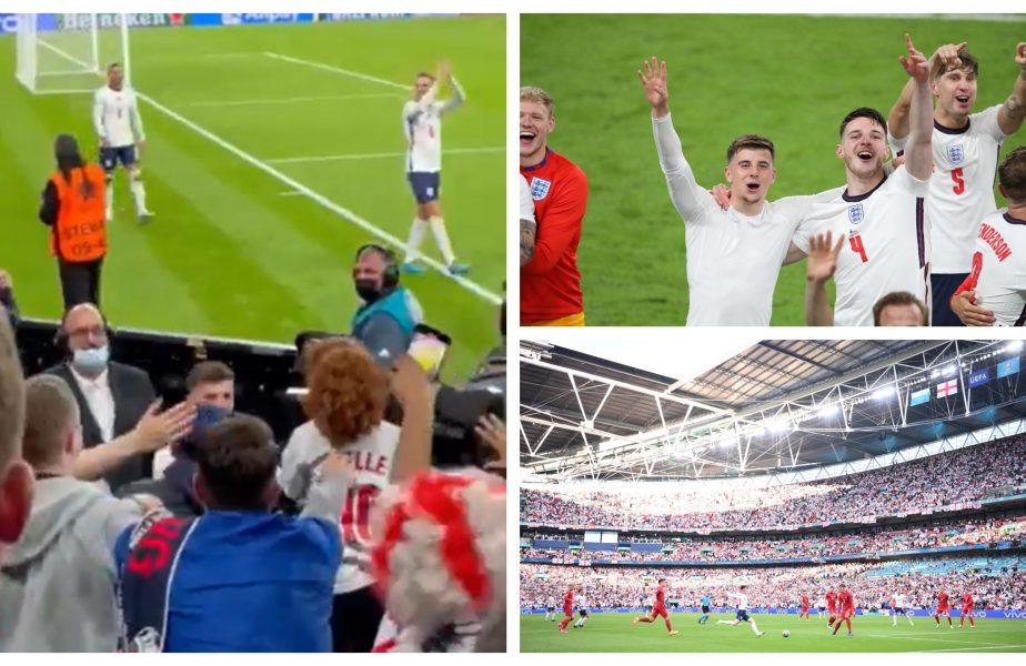 Mason Mount, gest de milioane pe Wembley! Cum a cucerit definitiv o copilă după calificarea Angliei în finala EURO 2020. Imagini de colecţie