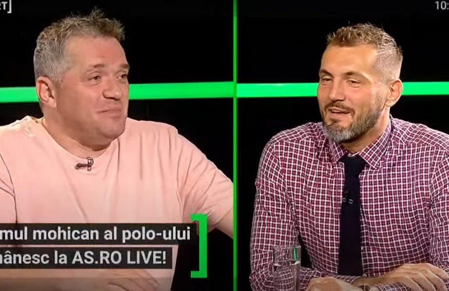 """""""La noi se pune slipul în cui!"""" :) Cosmin Radu, cel mai selecţionat poloist român, a renunţat la carieră pentru un post în Federaţie. """"A fost dorinţa mea"""""""