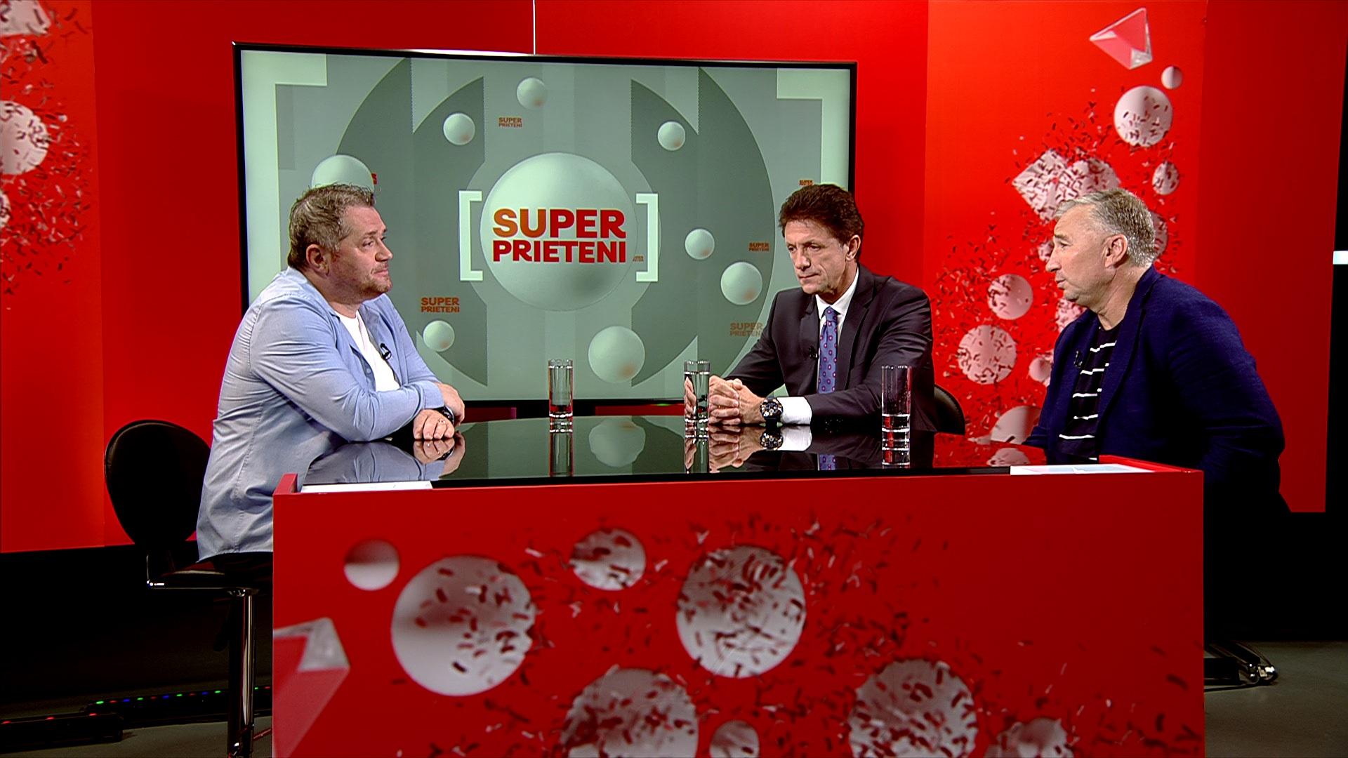 Dan Petrescu şi Gică Popescu, la SuperPrieteni