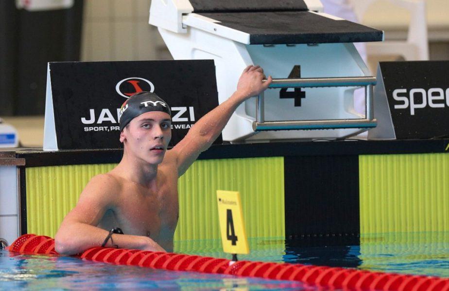 David Popovici scrie istorie! Românul a obţinut o nouă medalie de aur la Campionatele Europene. Performanţă uriaşă a tânărului de 16 ani