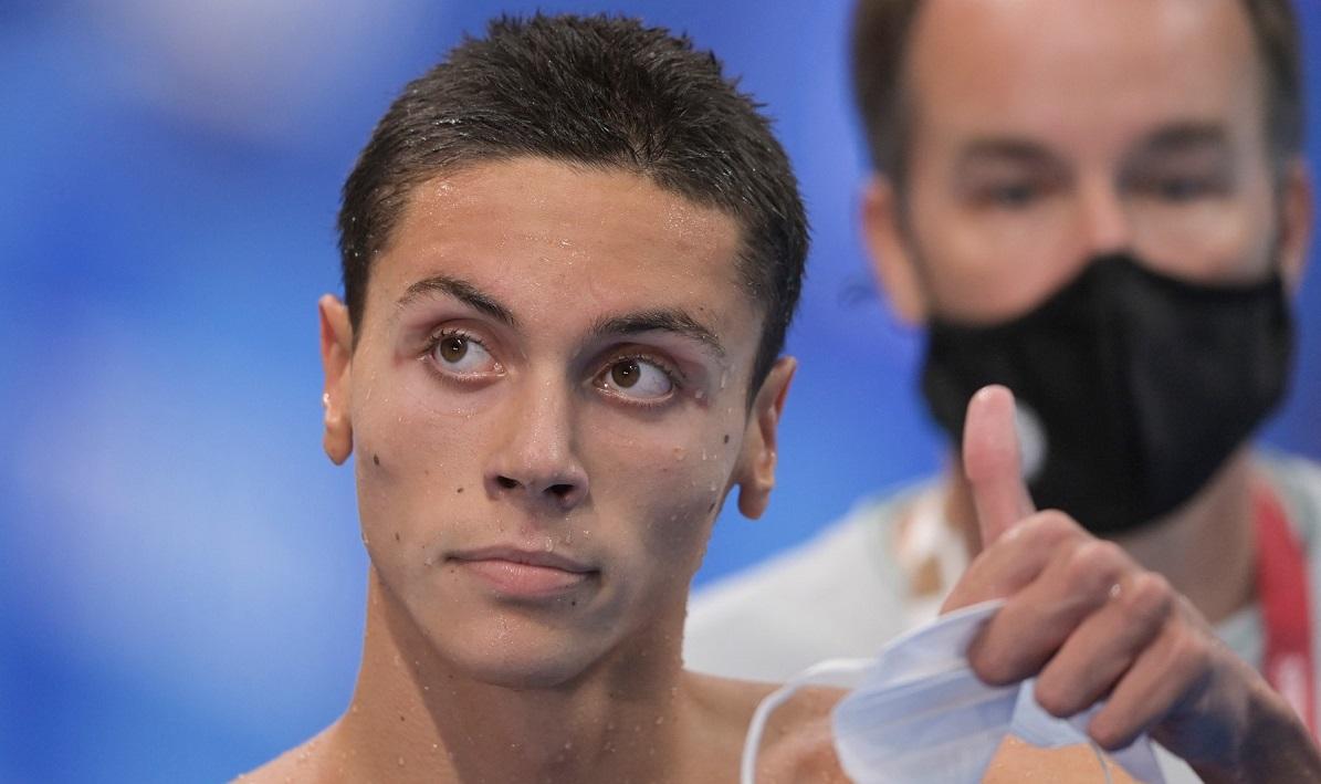 David Popovici, puștiul minune al natației românești