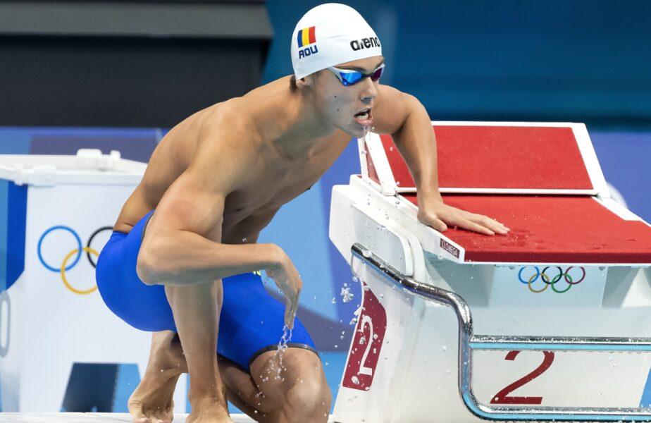 """Jocurile Olimpice 2020   David Popovici anunţă schimbări majore după ratarea medaliilor la 100 m liber: """"Ne antrenăm la toate, vor fi câteva surprize pe viitor"""""""