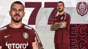 Oficial: Denis Alibec a fost prezentat de CFR Cluj! Ce număr va purta internaţionalul împrumutat de la Kayserispor