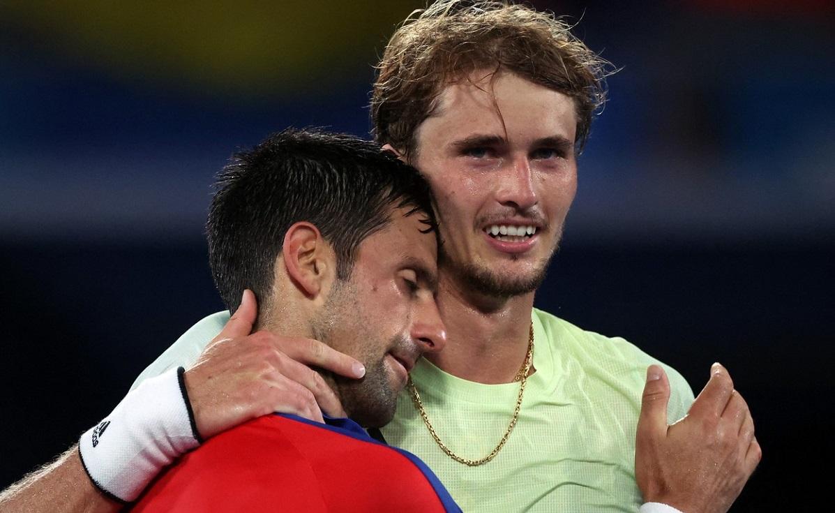 Novak Djokovic, eliminat de Alexander Zverev