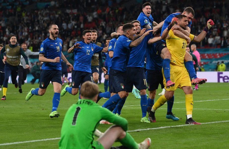 EURO 2020 | Italia – Anglia 1-1 (3-2. d.l.d). INCREDIBIL! Squadra Azzurra este noua regină a Europei! Donnarumma a fost uriaş pe Wembley la loviturile de departajare!