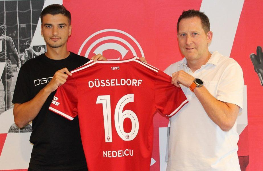 Dragoş Nedelcu a fost prezentat oficial de Fortuna Dussledorf