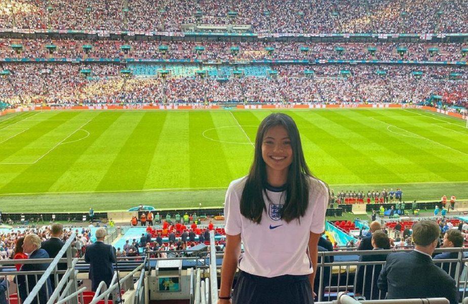 EURO 2020 | Emma Răducanu, în tribune la Anglia – Danemarca. Atmosferă de vis creată de cei 60.000 de fani de pe Wembley