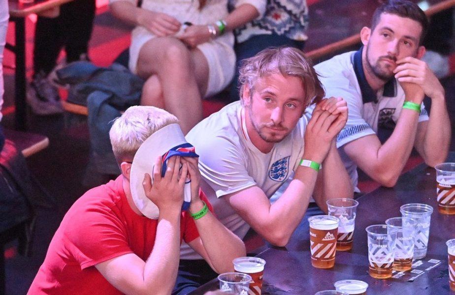 Englezii au trăit cu sufletul la gură finala EURO 2020. Cea mai mare audienţă TV de la funeraliile prinţesei Diana