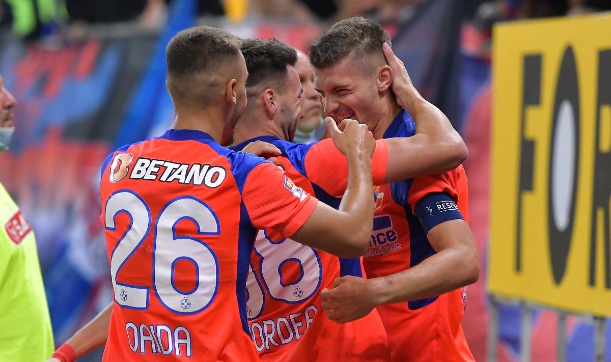 FCSB, bucurie Florin Tănase