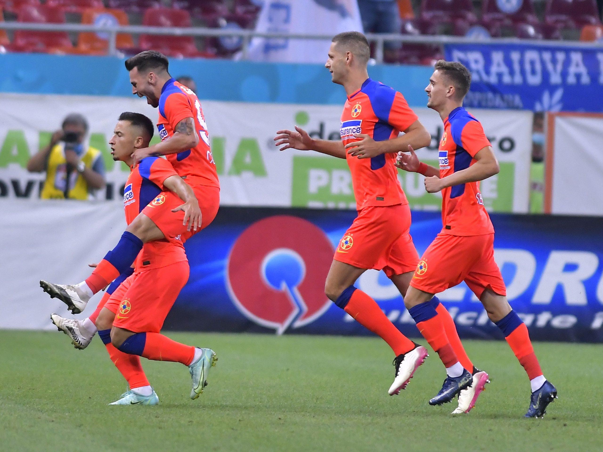FCSB, bucurie gol