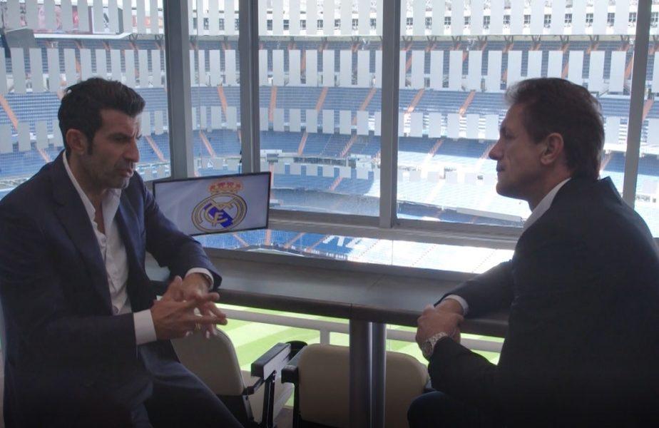 """SuperPrieteni, de Gică Popescu! Dezvăluirea lui Luis Figo despre transferul care a şocat fotbalul. Motivul pentru care a plecat de la Barcelona la Real Madrid. """"Te-ai dus la marele rival!"""""""
