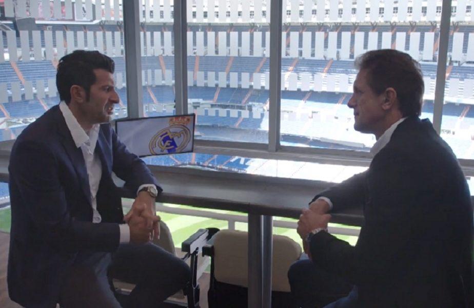 """SuperPrieteni, de Gică Popescu! Luis Figo a dezvăluit prin ce a trecut la începutul carierei, până să fie acceptat de Sporting. """"Era complicat!"""""""