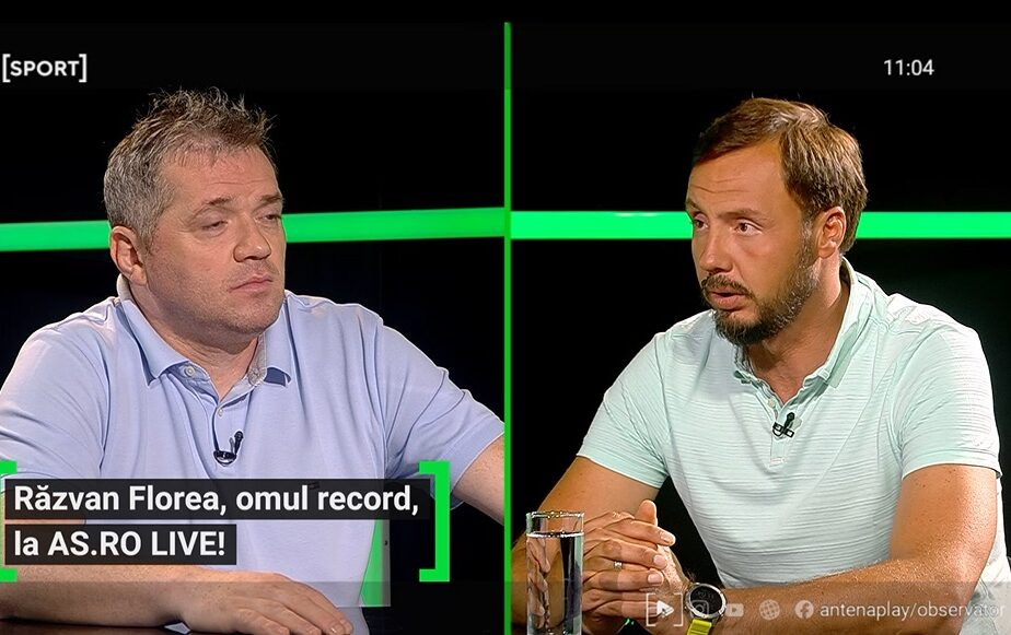 Răzvan Florea a fost invitat la AS.ro LIVE