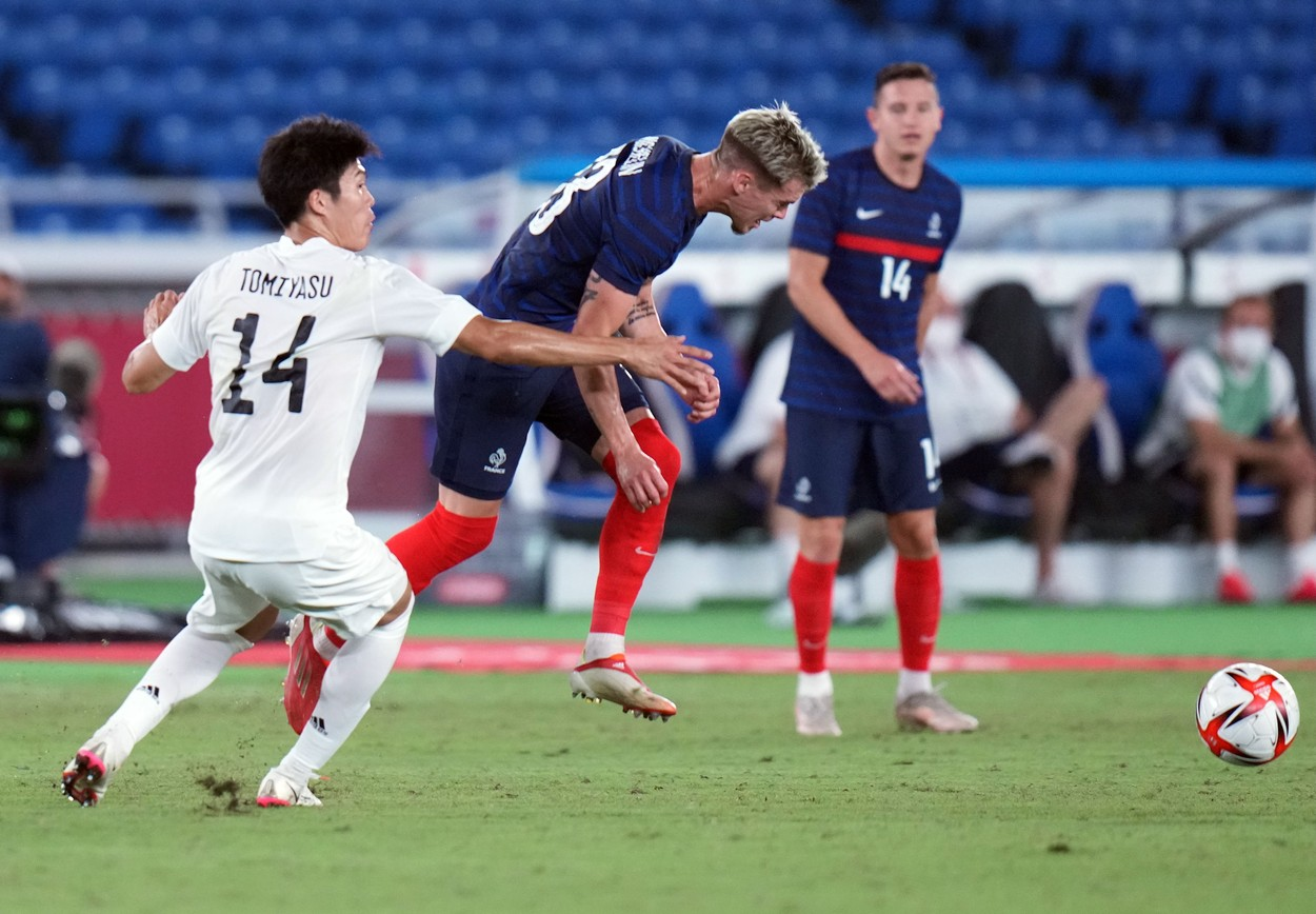Franţa - Japonia, 0-4