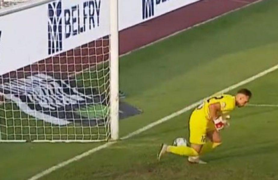 Sepsi – Academica Clinceni 2-0. Un debutant a marcat primul gol al sezonului. Portarul oaspeţilor a scăpat mingea printre picioare